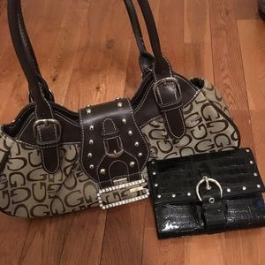 Handbags - Small patterned purse and pocket book